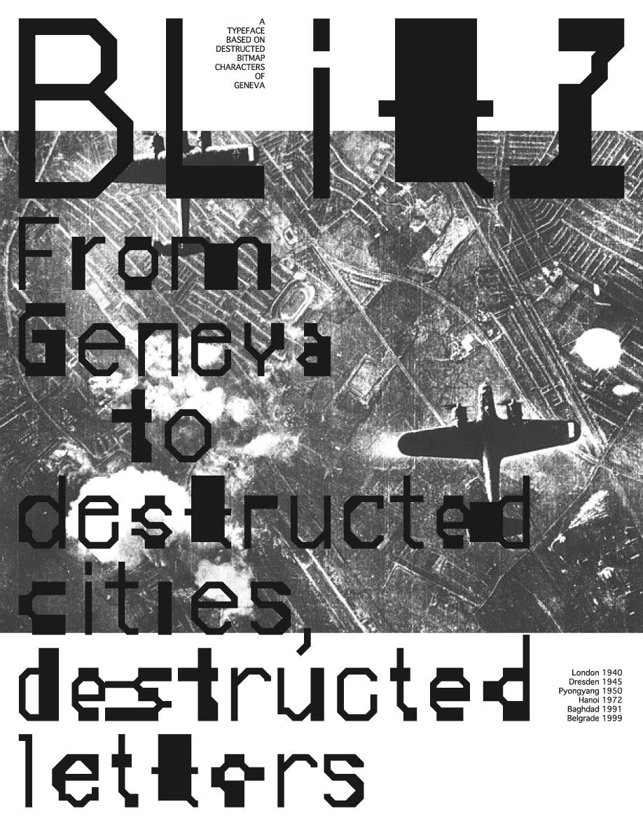 Blitz: specimen poster