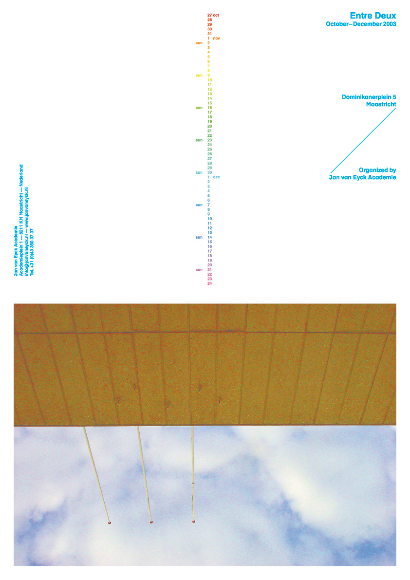 Entre Deux: Poster