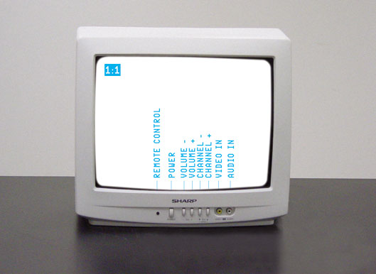 Sharp Color TV 13N M-150