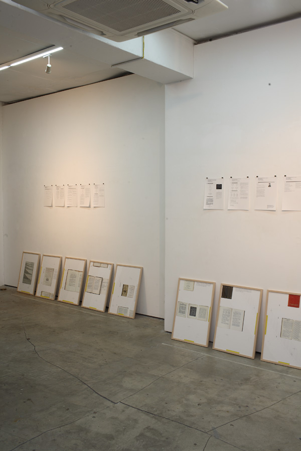 Exhibition view, photo by Jongmyung Lee