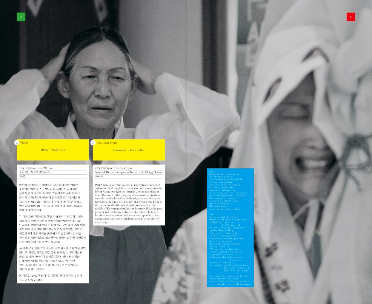Festival Bo:m 2012, program, spread