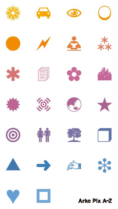 Arko Art Center, stickers
