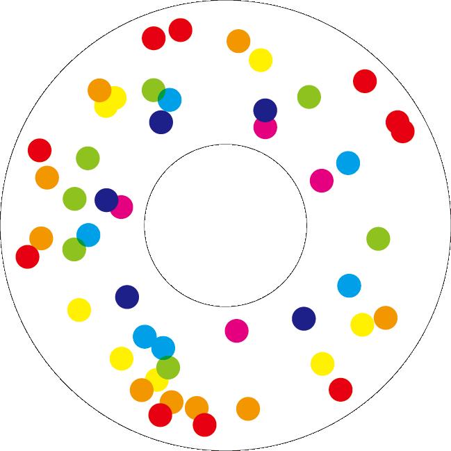 Muji Rainbow, CD label
