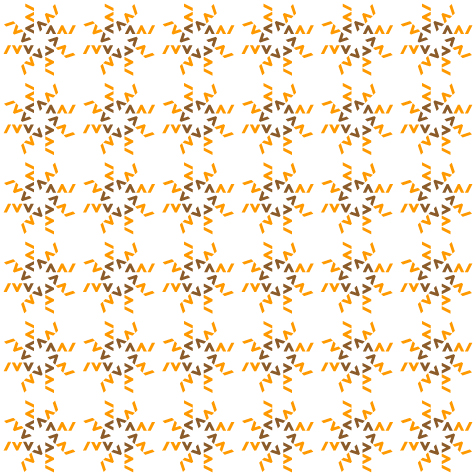 KAWF, pattern