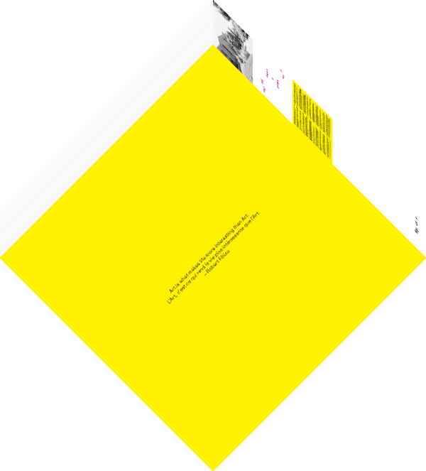 Tree Speak / Invisible Geometry / Robert Filliou
