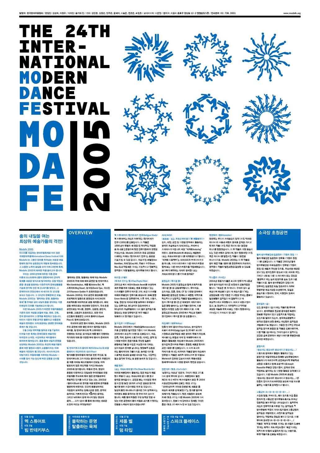 Modafe 2005: Newsletter