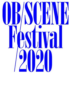 Ob/scene Festival 2020: Flyer