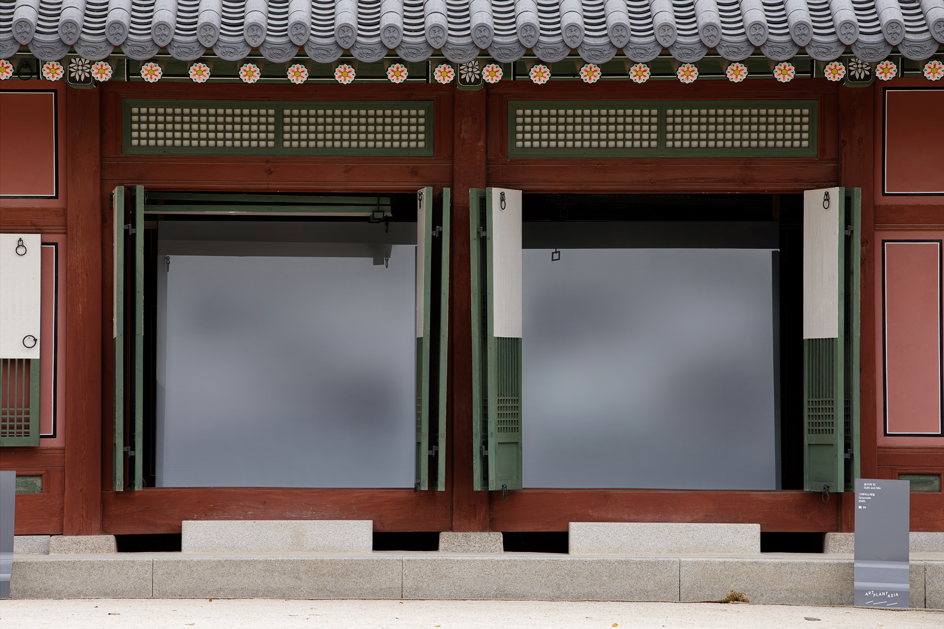 설치 전경. 사진: 타별. 제공: 아트 플랜트 아시아 2020